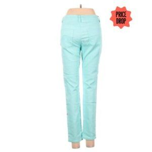 Girls Aqua Blue Justice Jeans